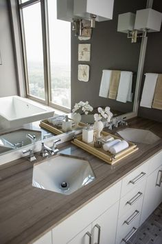 Master Bathroom Pictures From HGTV Urban Oasis 2014 from HGTV