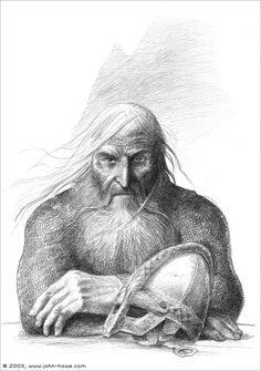 John Howe  The King Under the Mountain