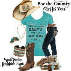 Cute outfit for a rodeo....cowgirl!   CLICK THIS PIN if you want to learn how you can EARN MONEY while surfing on Pinterest