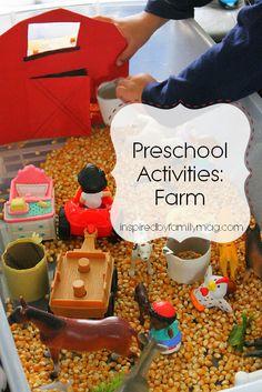 Preschool Activities: Farm