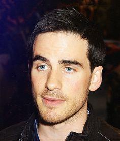 Colin O'Donoghue . . . Oh gosh those eyes!