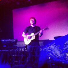 January - Ed Sheeran - Listen here: http://www.iheart.com/artist/Ed-Sheeran-396790/ - Photo: @iheartradio (instagram)