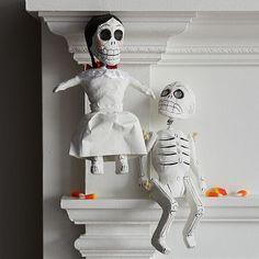 Hanging Skeleton #WestElm