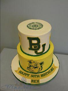 #Baylor birthday cake! #SicEm #SailorBear