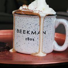 """Enamelware"" Ceramic Mug from Beekman 1802."