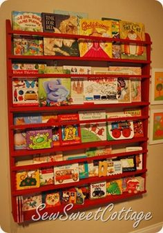 DIY-Hanging Book Rack