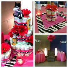 The Hot Pink Zebra Baby Shower