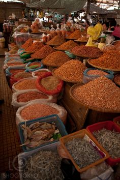 Markets in Dalat Vietnam