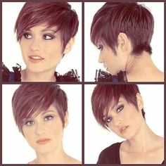 Short in the Back/Longer in the Front Pixie Cut