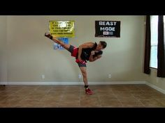 Burn fat at home with Coach Kozak through this 30 minute fat burning cardio kickboxing workout! This fat burning workout with have you sweat...