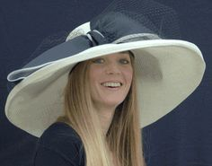 Wide brim hat - southern tea hat