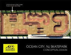 A rendering of the proposed Cape May County Skatepark in Ocean City.
