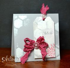 fun use for the Hexagon Hive Thinlit