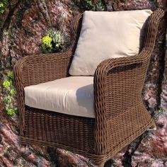 #outdoor #brown #wicker #chair brand #new #furniture via @Wicker Paradise - @socialwicker