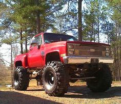 GMC - a truck identical to this passed my house the other day! aaahhh!
