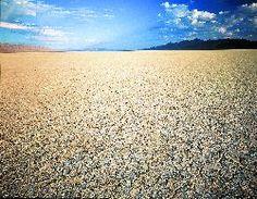 The Black Rock Desert Playa - home of Burning Man.