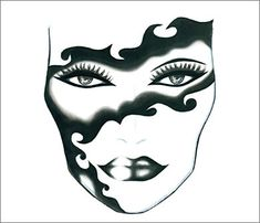 Face Chart - Madame Mask