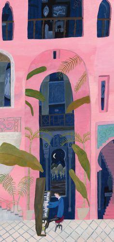folk art, color, yosuk yamaguchi, palm art, artist, yosuke yamaguchi, paintings, arte japones, illustr