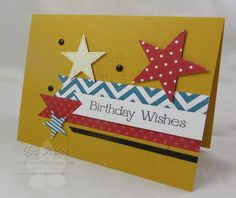 CAS261 Birthday Star by chanteuse - Cards and Paper Crafts at Splitcoaststampers