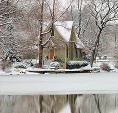 Beautiful house, beautiful setting