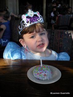 Disney World restaurant birthday treats