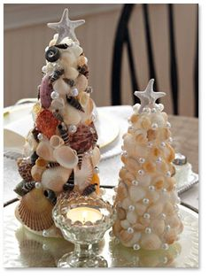 shells and also cute cork trees in the same post