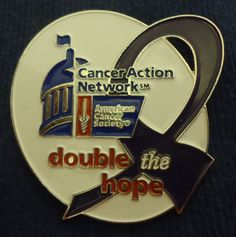 American Cancer Society pin
