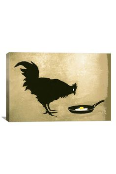 Banksy Chicken  Egg Canvas Print#Repin By:Pinterest++ for iPad#