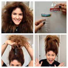 treasure troll doll costume | DIY – Easy Halloween Hairstyles | Greasy | a magazine for young ...