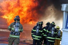 Fire and Rescue training at EICC. Find out more about our Midwest Center for Public Safety Training at http://www.eicc.edu/business/centers/mcpst/index.html