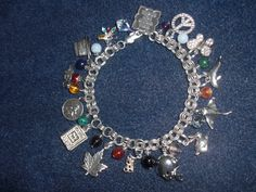 Charm Bracelet with a Story to Tell               http://tinyurl.com/6axb24w
