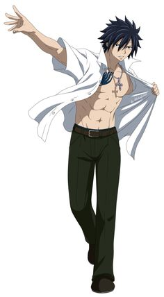 Gray Fullbuster - Fairy Tail *o* Marry me !!!!!!