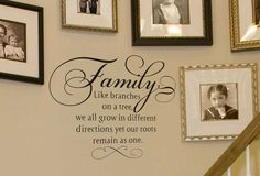 Family Like Branches on a Tree Wall Decal