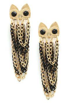 Owl My Ear Drop Earrings
