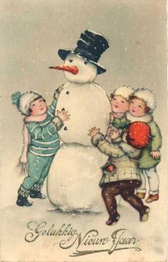 Frosty and Kids