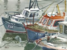 Kilmore Boats Painting  -    Donald Maier