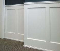 Wainscoting. I want this for a babies room and possible everywhere else in the house. Love wainscoting.