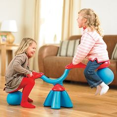 SpiroBouncer Spinning Teeter Totter #Review & #Giveaway. Basically the coolest toy ever.