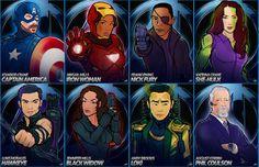Sleepy Hollow+Avengers fanart!