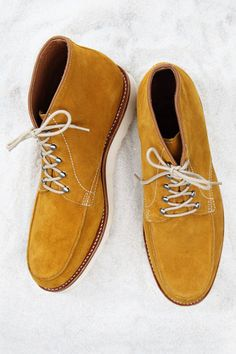 Suede desert boots with crepe sole by Grenson, grenson.co.uk.