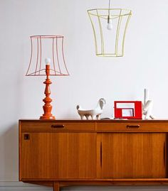 lights, decorate frames lamps, birches, lampshades, lamp shade, lighting, hallways, lamp frame, light shades