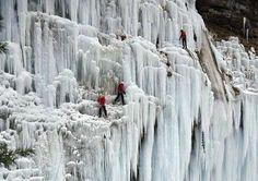 Cataratas congeladas, Slovenia
