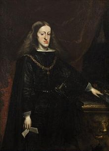 Charles II of Spain.  His family tree is a circle.