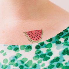 Watermelon tattoo