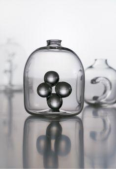 Glass works by Yoshihiro TAKAHASHI, Japan