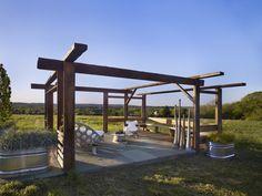 Reclaimed Lumber Pavilion