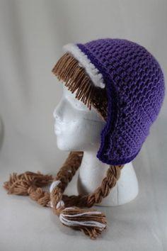 anna frozen hat   Princess Anna from Frozen Fan Art Crochet Hat