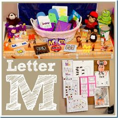 Home #Preschool Letter M