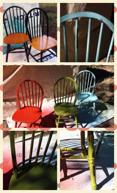 DIY kitchen chair makeover