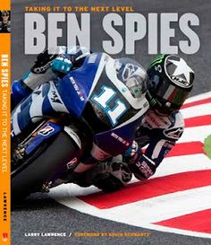 The cover..and a whole slew of images from MotoGP of former AMA and World Superbike Champion Ben Spies taken by yours truly...